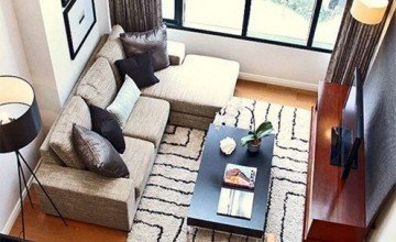 Tricks for decorating small living rooms
