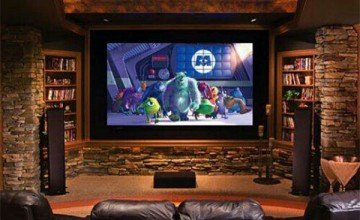 creating home theatre in living room