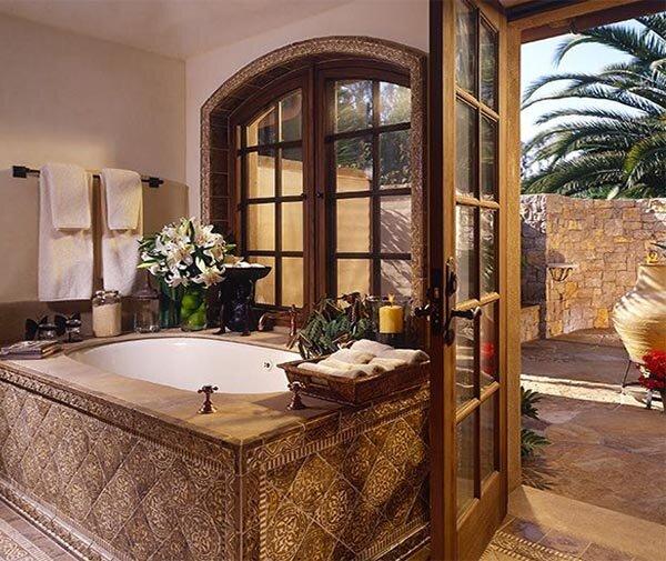 tuscan bath ideas